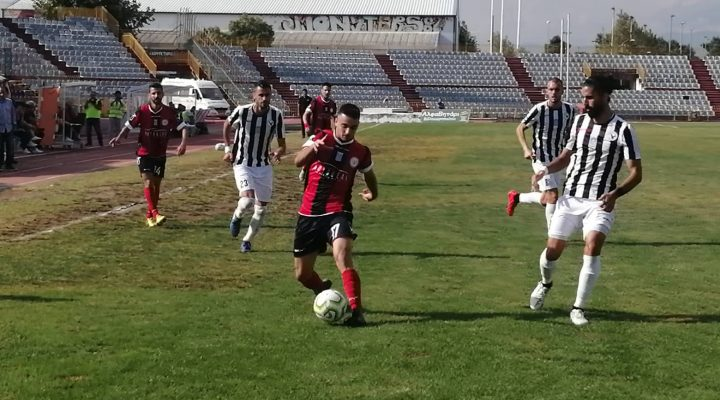 LIVE !!! Τρίκαλα – Δόξα Δράμας 1-0